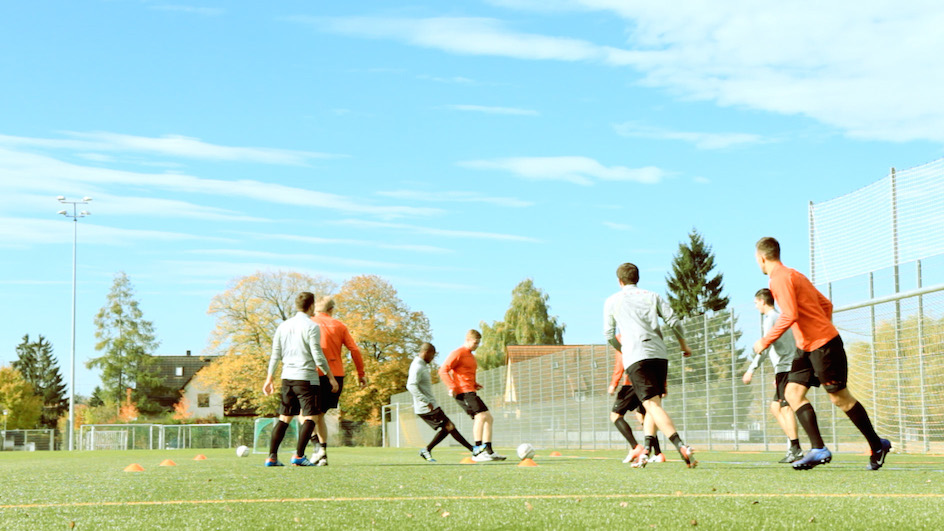 Fußballtraining-DVD Spielform