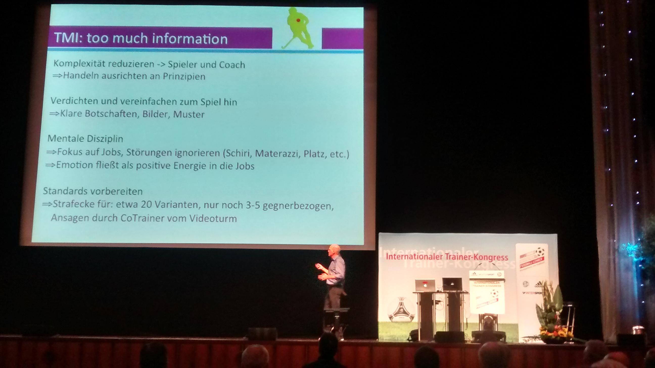 Markus Weise beim ITK 2014 in Mannheim