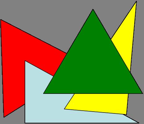 Dreiecksbildung Dreiecksspiel